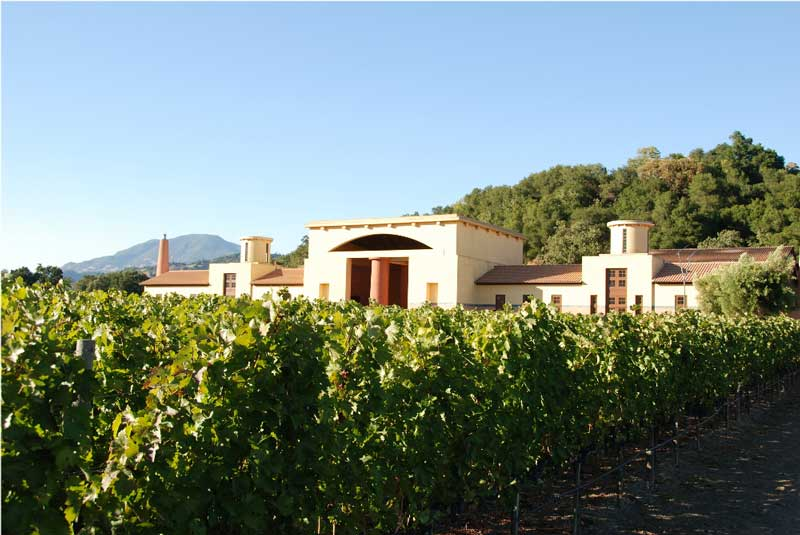 view from featured winery